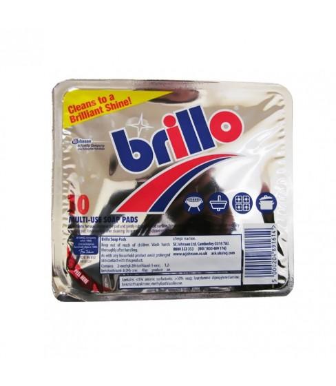 Multifunkcyjny zmywak nasączony mydłem Mr. Muscle Brillo 10 szt.