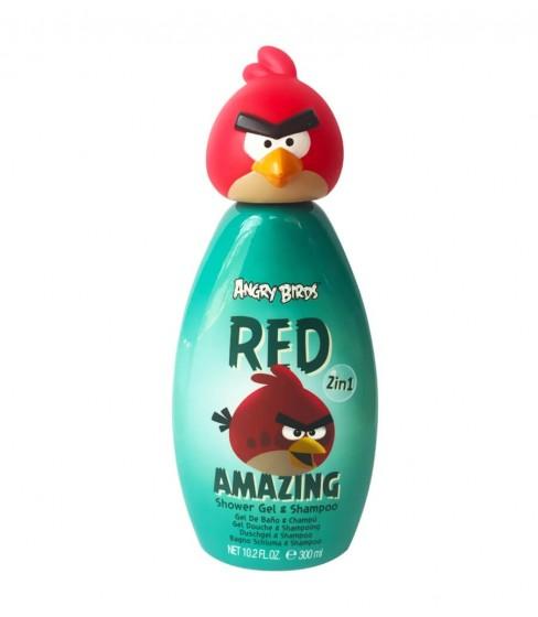 Żel pod prysznic i szampon 2w1 Angry Birds RED AMAZING 300ml