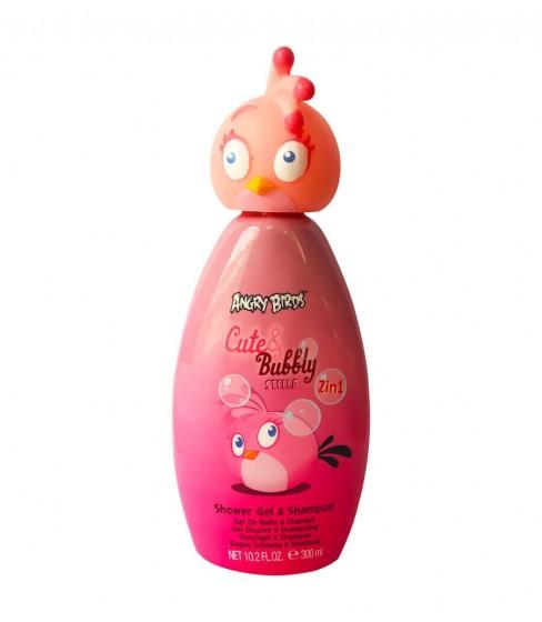 Żel pod prysznic i szampon 2w1 Angry Birds Cute&Bubbly 300ml