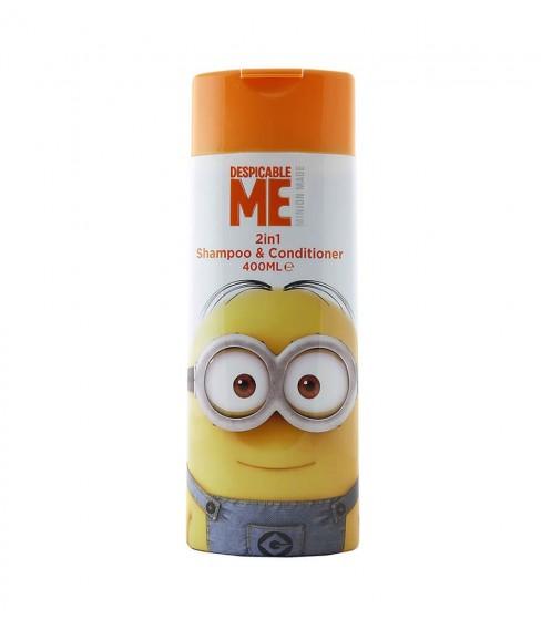 Minionki Szampon i odżywka 2In1 Despicable Me 3 400 ml