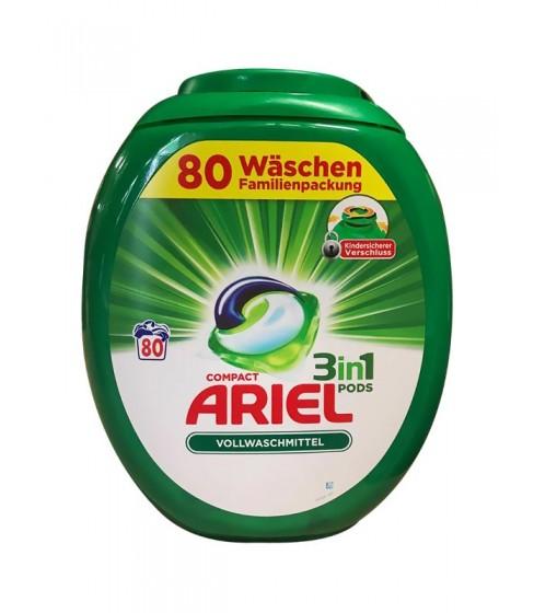 Kapsułki do prania Ariel 3w1 Universal 80 sztuk