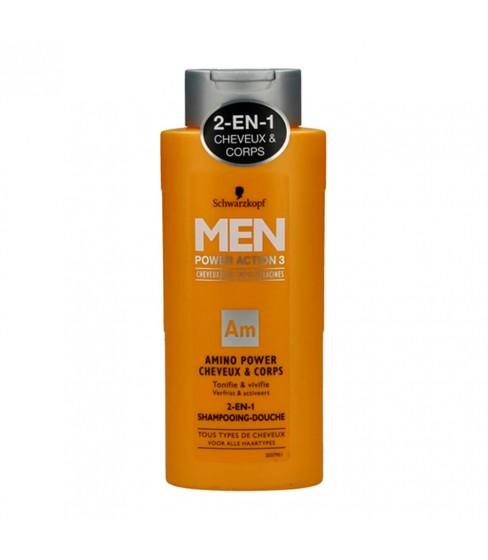 Szampon i żel pod prysznic Schwarzkopf 2in1 For Men 250 ml