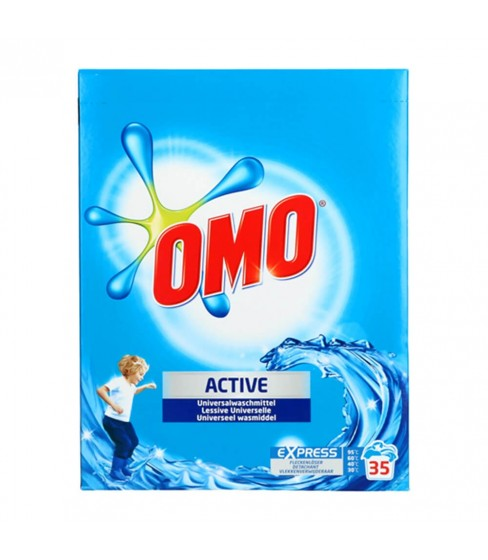 Proszek do prania OMO Universal Active 2,45 kg - 35 W