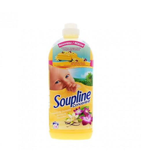 Soupline 1,5L płyn do płukania 54W-Vanille&Orchide
