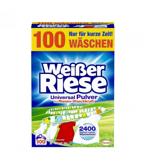 Proszek do prania Weisser Riese Universal 5,5 kg - 100 WL