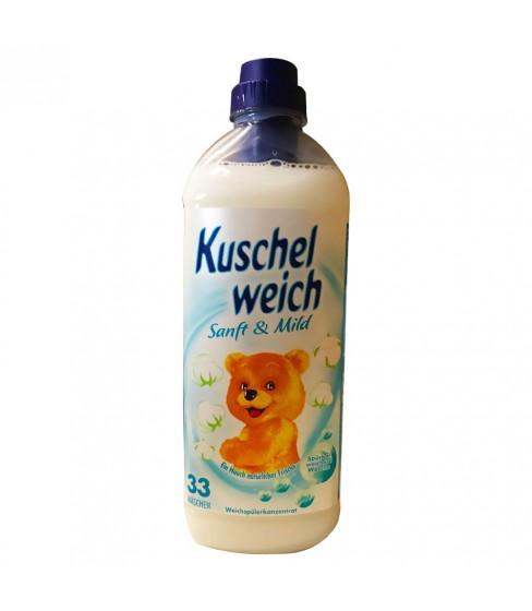 Płyn do płukania Kuschelweich Sanft & Mild 990 ml - 33 WL