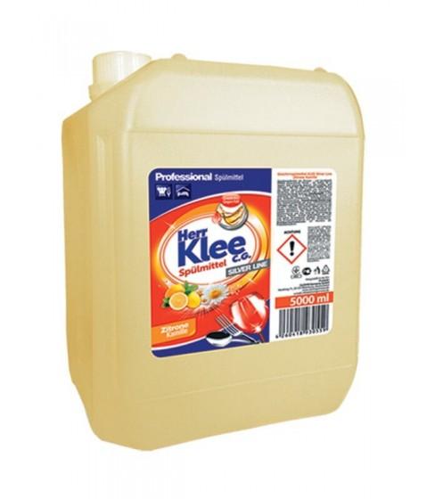 Płyn do mycia naczyń Herr Klee cytryna i rumianek 5 l