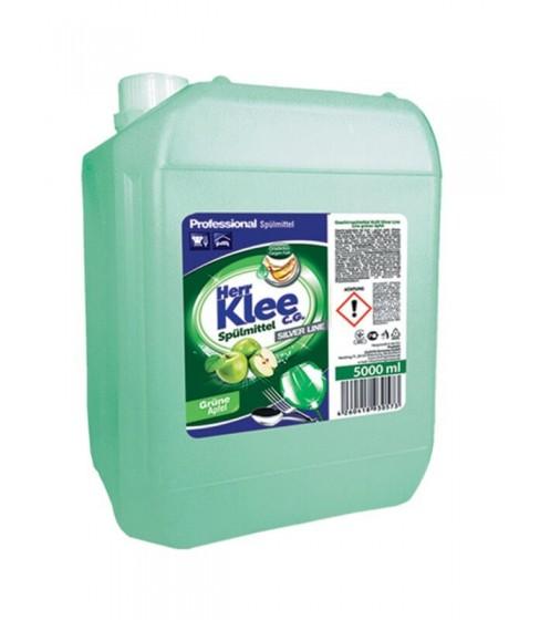 Płyn do mycia naczyń Herr Klee zielone jabłuszko 5 l