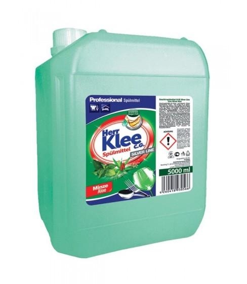 Płyn do mycia naczyń Herr Klee mięta i aloes 5 l