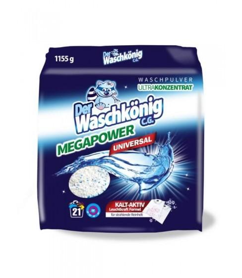 Proszek do prania Waschkonig MegaPower Universal 1155 g