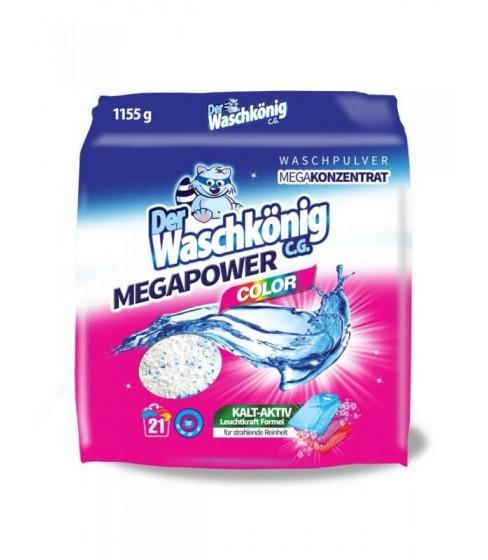 Proszek do prania Waschkonig MegaPower Color 1155 g