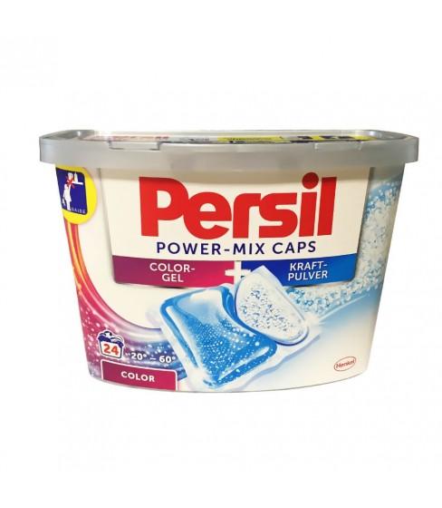 Kapsułki do prania Persil Power Mix Color - 24 sztuki