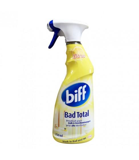 Biff Bad Total spray do łazienek Zitrus 750ml