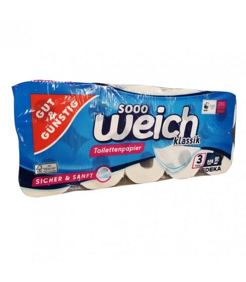 Gut & Günstig papier toaletowy 3 warstwowy A10