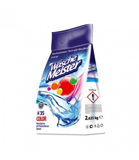 Proszek do prania WäscheMeister Color 2,625 kg – 35 WL