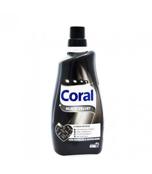 Płyn do prania Coral Black Velvet 1,5 l - 20 WL