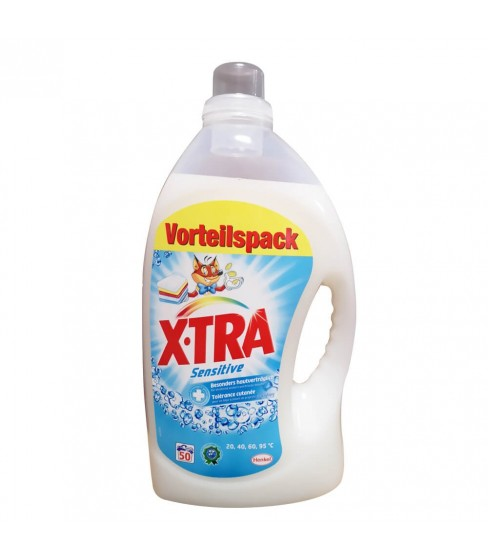 Żel do prania X.Tra Sensitive 3,25 l - 50 WL