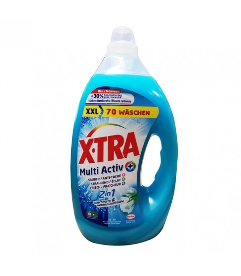 Żel do prania X.Tra Multi-Active 2in1 3,5 L - 70 WL