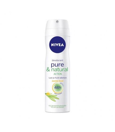 Antyperspirant Nivea Pure & Natural Jasmine 150 ml