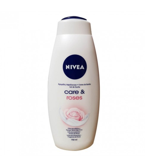 Żel pod prysznic Nivea Care Roses 750 ml