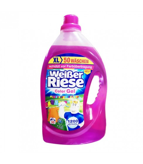 Żel do prania Weisser Riese Color 3,65 l - 50 WL