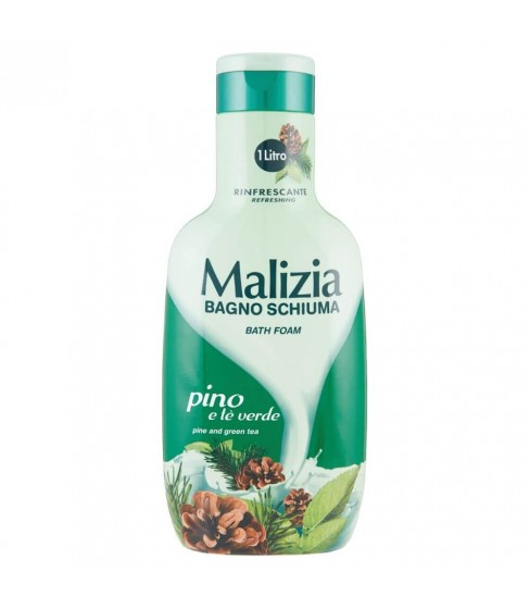 Płyn do kąpieli Malizia Pine and Green Tea 1 L