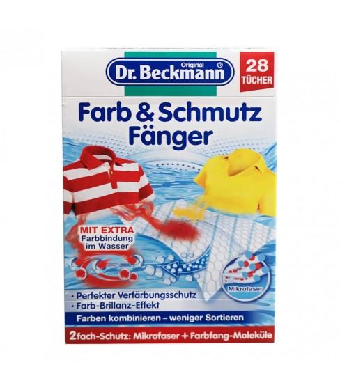 Dr Beckmann Farb&Schmutz chusteczki wyłapujące kolor 28szt.