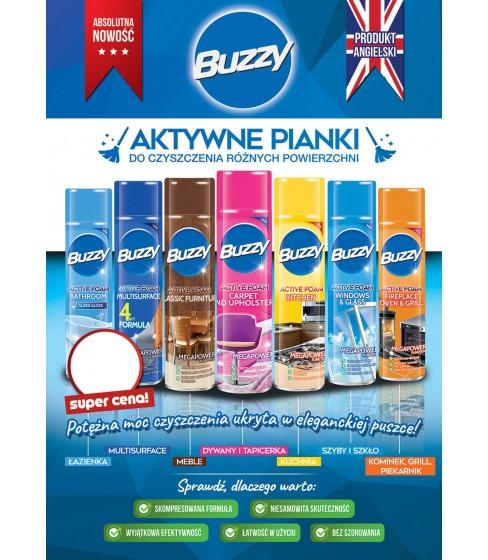 Plakat B2 pianki Buzzy