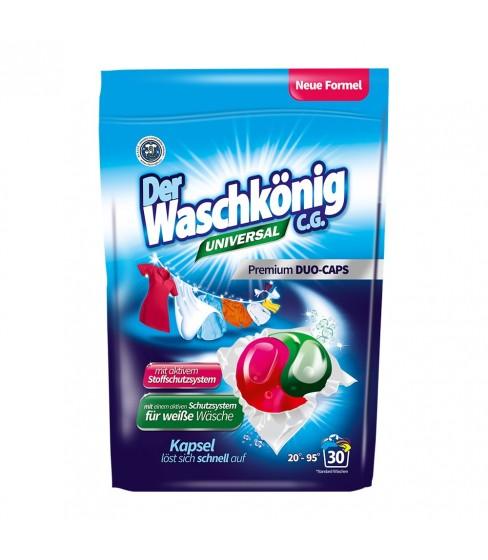 Kapsułki do prania Der Waschkönig C.G. Universal DUOCAPS 30 sztuk