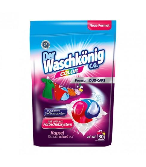 Kapsułki do prania Der Waschkönig C.G. Color DUOCAPS 30 sztuk