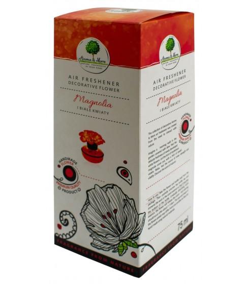 Odświeżacz powietrza Aroma&More Magnolia i Białe Kwiaty (kwiat) 75 ml