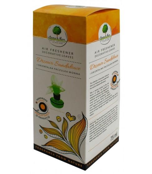 Odświeżacz powietrza Aroma&More Drzewo Sandałowe i Paczulka Wonna (listek) 75 ml