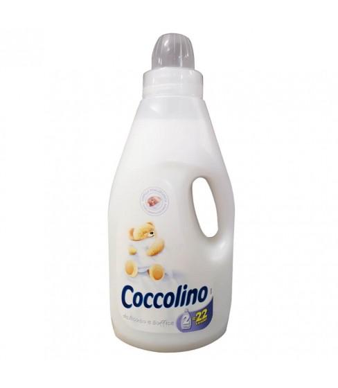 Płyn do płukania tkanin Coccolino Delicato e Soffice 2L - 22 prania