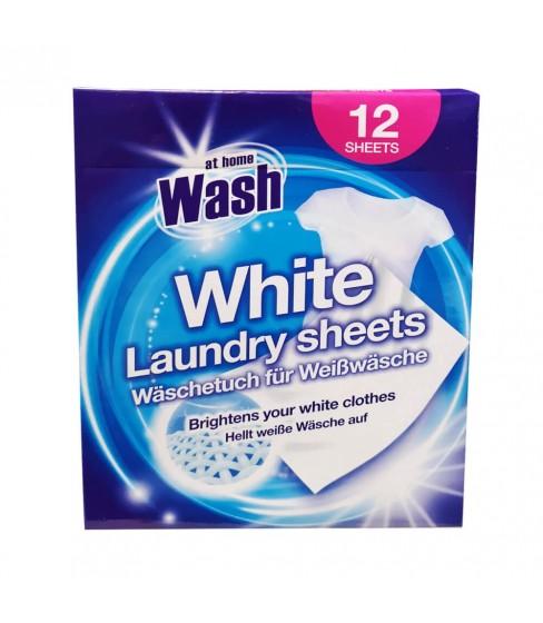 At Home Wash chusteczki wyłapujące kolor White 12 szt.