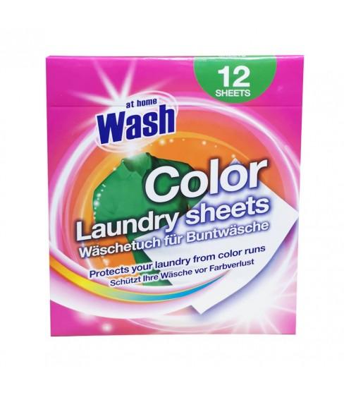 At Home Wash chusteczki wyłapujące kolor Color 12 szt.