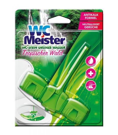 Zawieszka do toalety barwiąca wodę WC Meister - Tropischer Wald