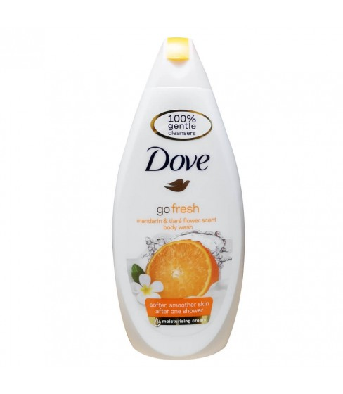 Żel pod prysznic Dove - Go fresh Mandarin&Tiare Flower 500 ml