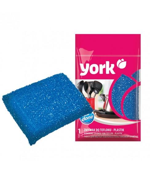 Zmywak do teflonu plastikowy York 1 sztuka