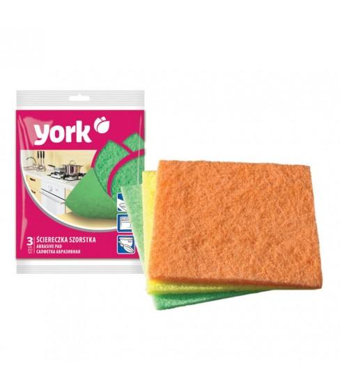 Ściereczka szorstka York 3 sztuki