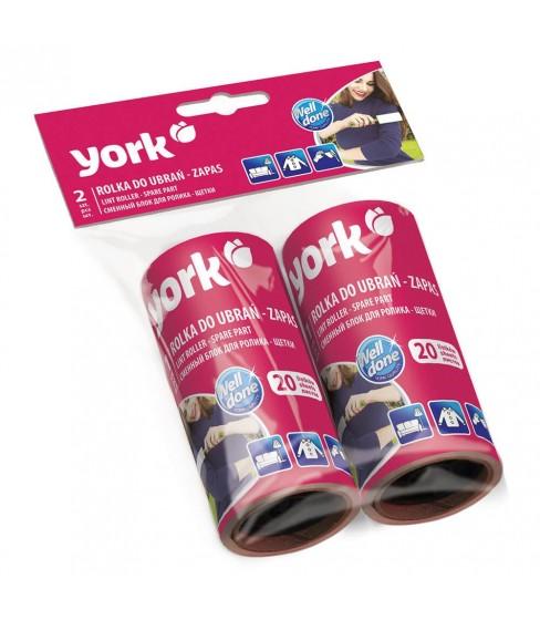Rolka do ubrań York - zapas 2 sztuki
