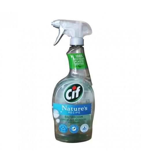 Spray do łazienki Cif Nature's Recipe 750 ml