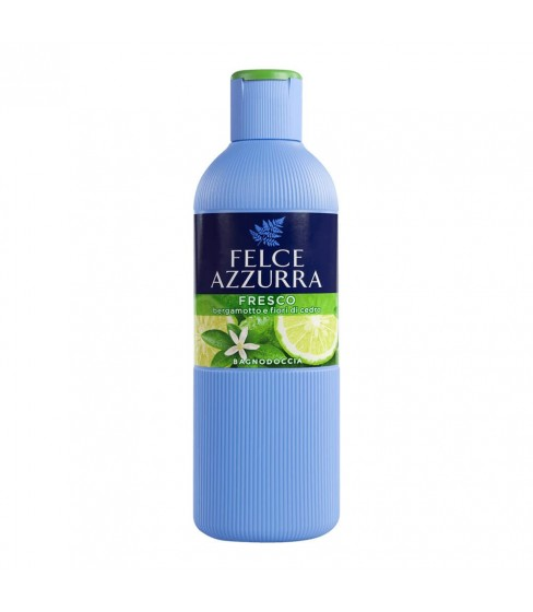 Żel do mycia ciała Felce Azzurra Bergamot & Jasmin (Fresco) 650 ml