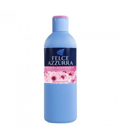 Żel do mycia ciała Felce Azzurra Fiori di SAKURA 650 ml
