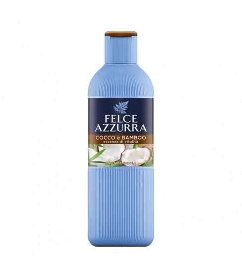 Żel do mycia ciała Felce Azzurra Coconut & Bamboo 650 ml