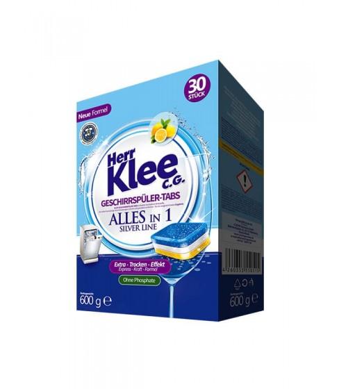 Tabletki do zmywarki Herr Klee Silver Line 30 sztuk