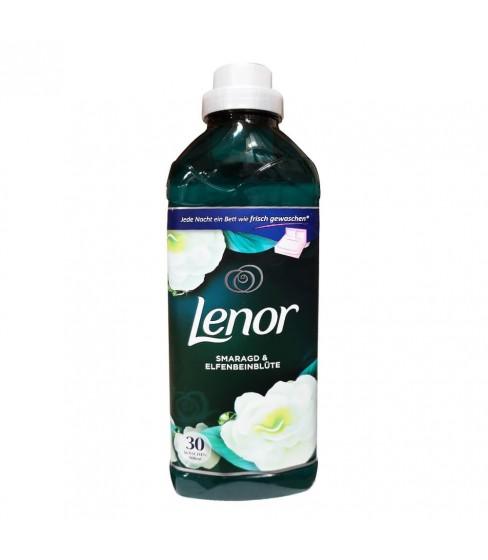 Płyn do płukania tkanin Lenor Parfumelle Smaragd Ivory Blossom 900 ml - 30 prań