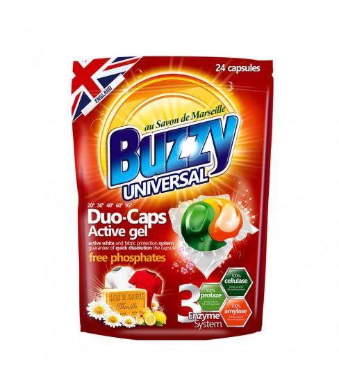 Kapsułki do prania Buzzy Duo-Caps Universal 24 szt.