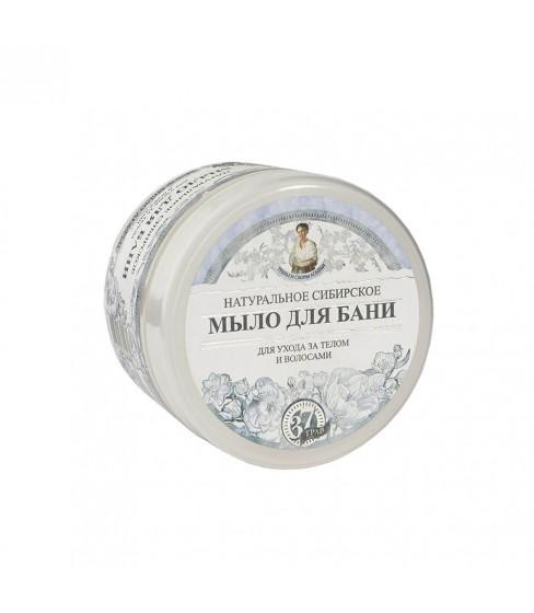 Białe mydło do ciała i włosów Receptury Babuszki Agafii 500 ml