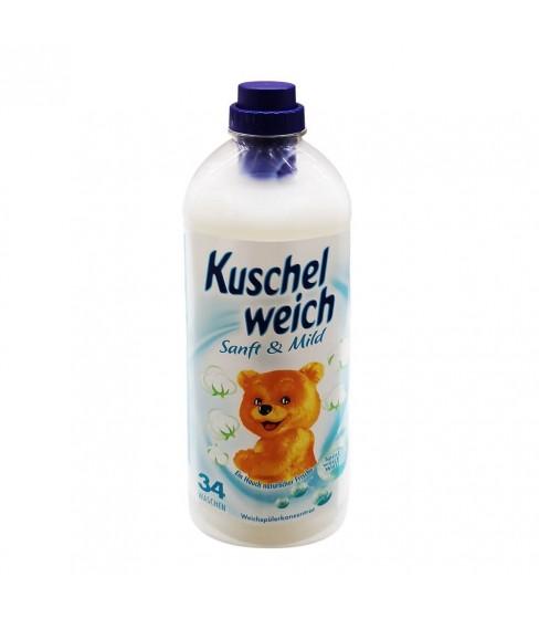 Płyn do płukania Kuschelweich Sanft & Mild 1 L - 34 WL