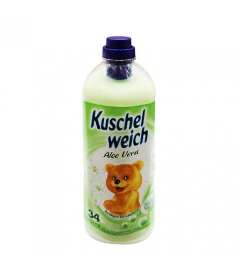 Płyn do płukania Kuschelweich Aloe Verae 1L- 34 WL